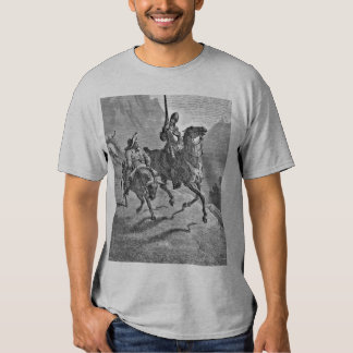 Don Quixote Gray T-Shirt