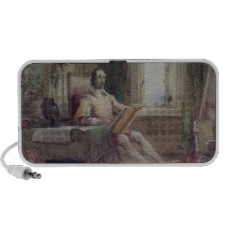 Don Quixote in his Study Travel Speaker