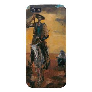 Don Quixote on the Way Stanislav Stanek iPhone 5/5S Cases
