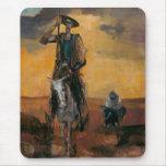 Don Quixote on the Way Stanislav Stanek Mousepad