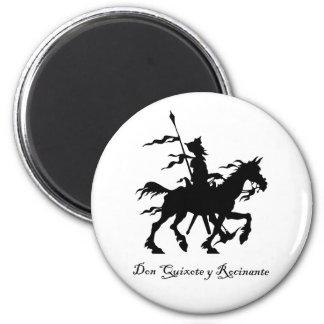 Don Quixote Rides Again Magnet