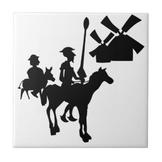 Don Quixote Tile