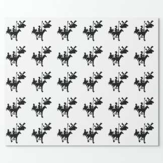 Don Quixote Wrapping Paper