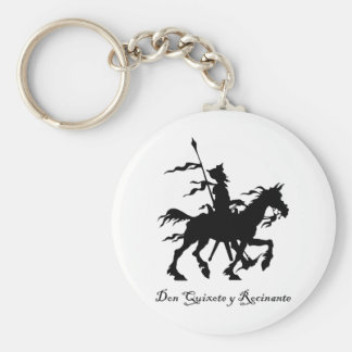 Don Quixote y Rocinante Key Ring