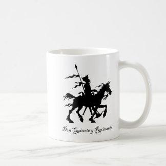 Don Quixote y Rocinante Coffee Mugs