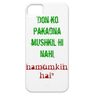Don Quote iPhone 5S Case
