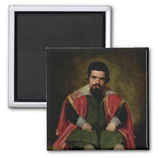 Don Sebastian de Morra, c.1643-44 Square Magnet