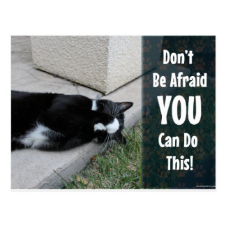 Don t Be Afraid Postcards
