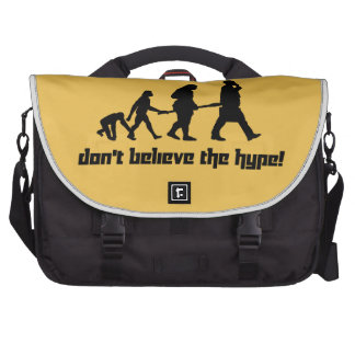 Don't believe the hype! commuter bag