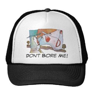 Don t Bore Me Mesh Hats