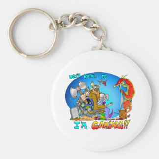 Don t Bother Me I m Gaming Keychains