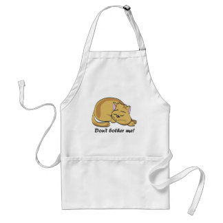 Don't bother me! standard apron