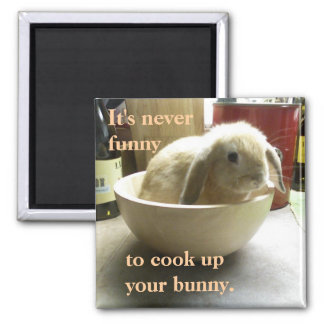 Don t cook the bunny fridge magnets