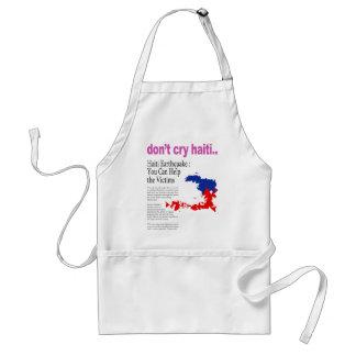 Don t Cry Haiti Help Haiti Aprons