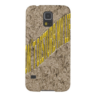 Don`t Disturb my life Cases For Galaxy S5