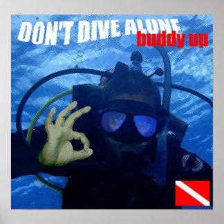Don t Dive Alone Print