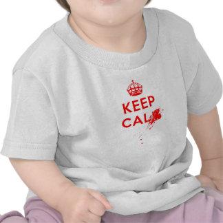 Don t Keep Calm with gunshot jpg Tee Shirts