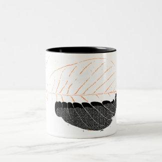 DON´T LEAF Two-Tone COFFEE MUG