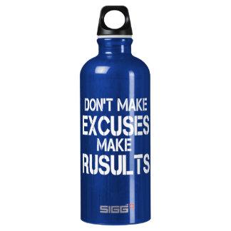 Don't make EXCUSES SIGG Traveller 0.6L Water Bottle