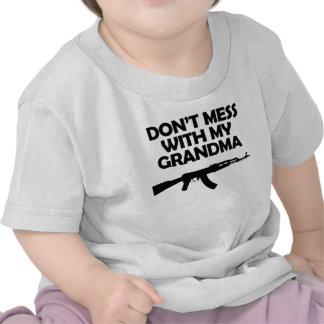 Don t Mess With My Grandma Tshirt