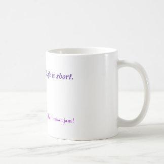 Don`t miss a jam basic white mug