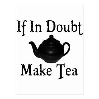 Don t panic - make tea post card
