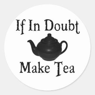 Don t panic - make tea stickers
