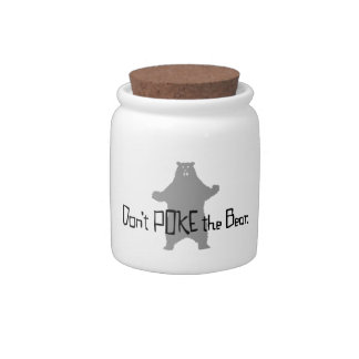 Don t Poke the BEAR Candy Jars
