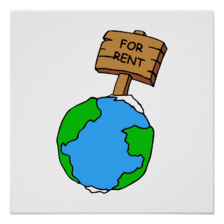 Don t sell our planet poster