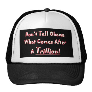 Don t Tell Obama What Comes After A Trillion Hats