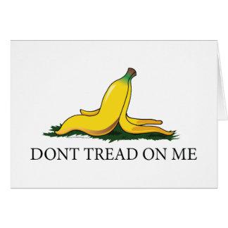 Don t Tread On Me Bananna Cards