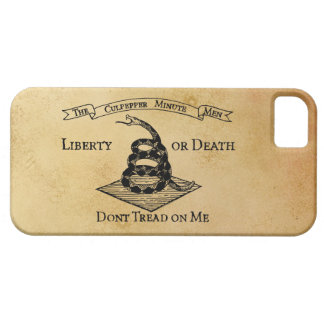 Don't Tread on Me Barely There iPhone 5 Case