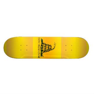 Don t Tread on Me Ensign Skate Deck