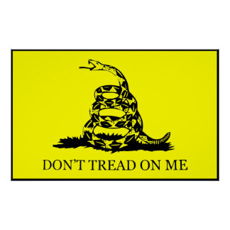 Don t Tread On Me Flag Poster