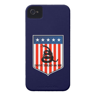 Don't Tread on Me iPhone 4 Cover