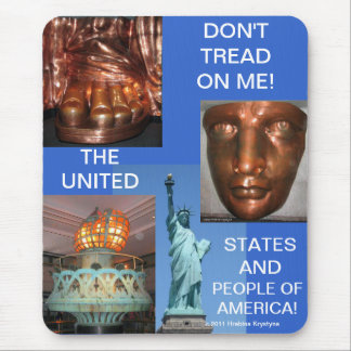 DON T TREAD ON ME MOUSEPADS