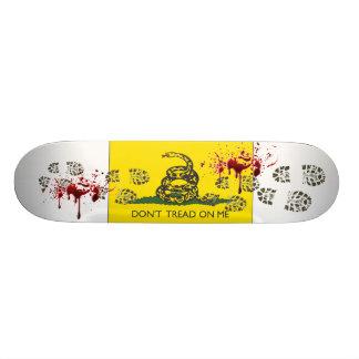 Don t Tread On Me Custom Skateboard