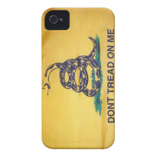 Don't Tread On Me Tea Party Flag Black Berry Case iPhone 4 Case-Mate Cases