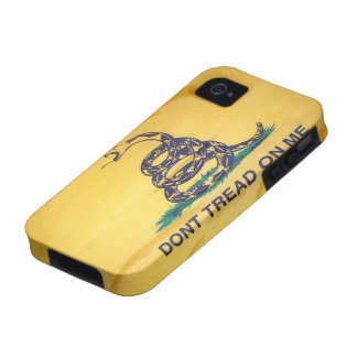 Don't Tread On Me Tea Party Flag iPhone 4/4S Case