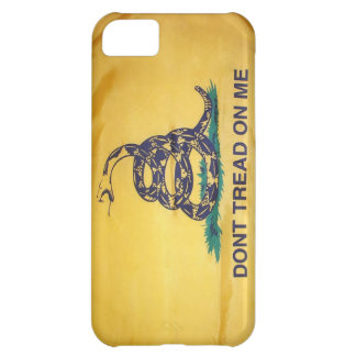Don't Tread On Me Tea Party Flag iPhone 5 Case