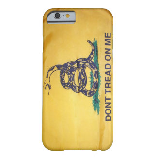 Don't Tread On Me Tea Party Flag iPhone 6 case Barely There iPhone 6 Case