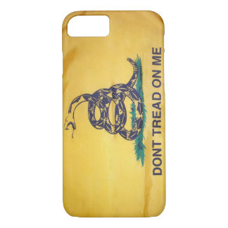 Don't Tread On Me Tea Party Flag iPhone 7 case
