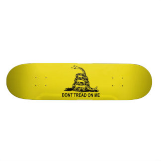 Don t Tread on Me The Gadsden Flag Skate Deck