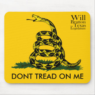 Don t Tread on Me Will Bratton Mouse Pad