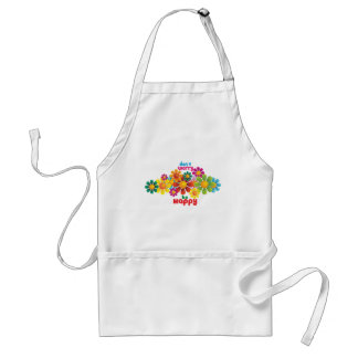 Don t worry be happy aprons