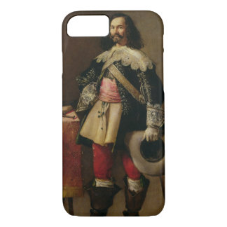 Don Tiburcio de Redin y Cruzat (oil on canvas) iPhone 8/7 Case