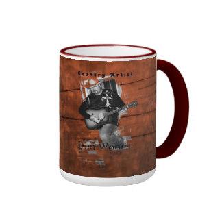 Don Woods Country Artist Ringer Mug