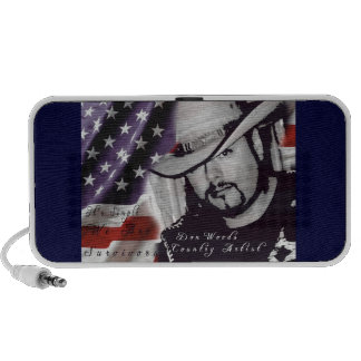 Don Woods Country Artist Mp3 Speakers