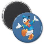 Donald Duck Jumping Fridge Magnets
