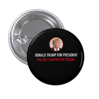 Donald for President Button